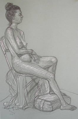 Drawing - Scout Seated by Donelli  DiMaria