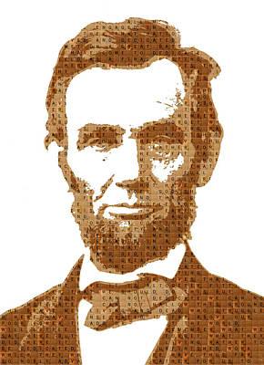 Scrabble Abraham Lincoln Original