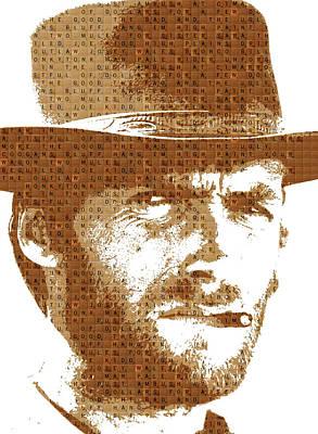 Scrabble Eastwood Art Print