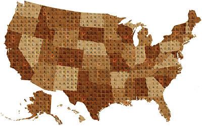 Scrabble Usa Original