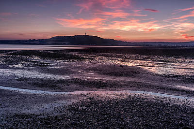 Photograph - Scrabo Above Strangford Lough by Glen Sumner