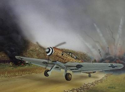 Axis Painting - Scramble by Rick Bennett