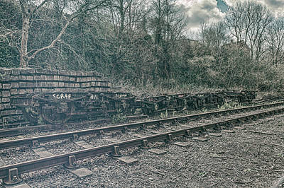 Photograph - Scrap By The Main Line by Stewart Scott