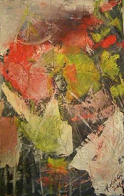Pictori Romani Contemporani Painting - Scream by Carmen Kolcsar
