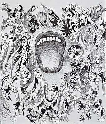 Scream Original by Nelson Rodriguez
