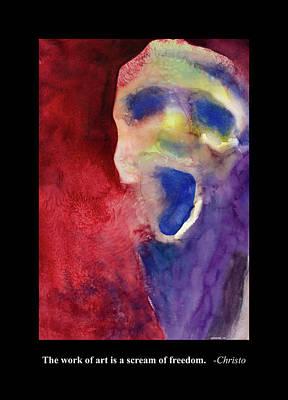 Digital Art - Scream by Rick Mosher