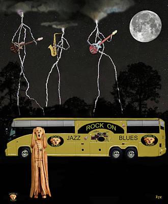 Scream Unplugged World Tour Art Print