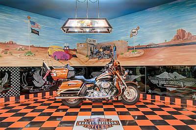 Photograph - Screamin Eagle Harley by Gene Sherrill