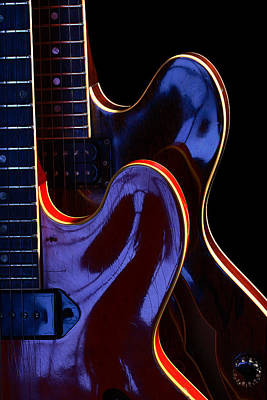 Screaming Guitars Art Print by Art Ferrier