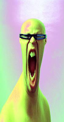 Screaming Head Original
