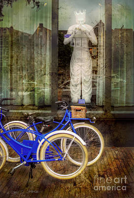 Art Print featuring the photograph Screaming King Bike by Craig J Satterlee