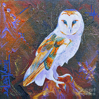 Painting - Screechy by Tracy L Teeter