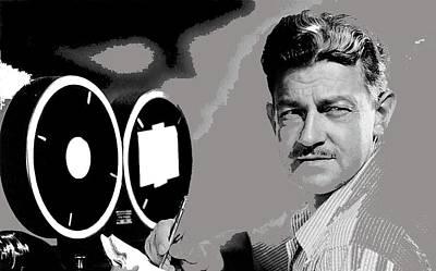 Screenwriter And Director Preston Sturges Circa 1947 Color Added 2016 Art Print