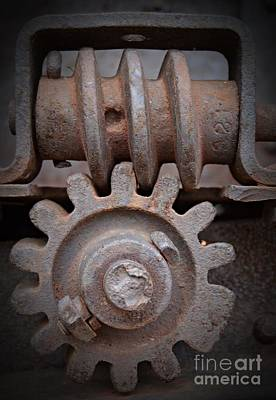 Photograph - Screw And Gear  by Chalet Roome-Rigdon