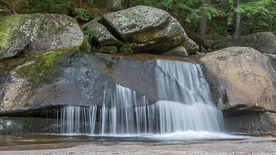 Photograph - Screw Auger Falls 1283 by Guy Whiteley