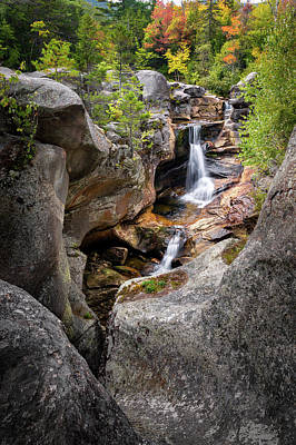 Photograph - Screw Auger Falls by Bill Wakeley
