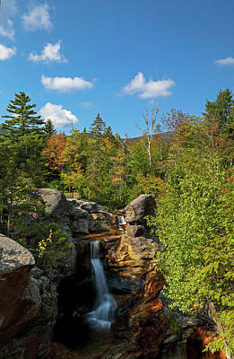Photograph - Screw Auger Falls by Juergen Roth
