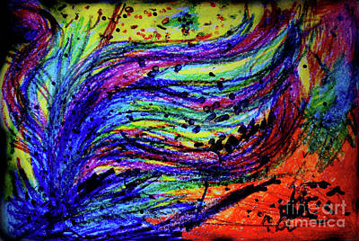 Scribble Original by Karen Adams
