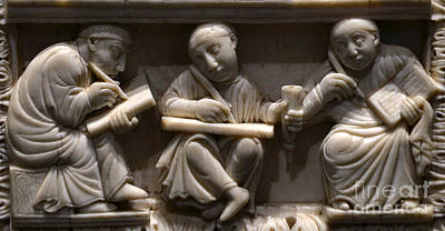 Scribes, 10th Century Art Print