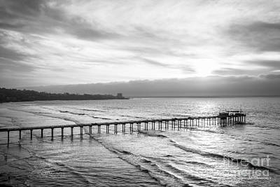 Diploma Photograph - Scripps Institution Of Oceanography Pier by University Icons