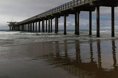 Photograph - Scripps Pier - 2 by Hany J