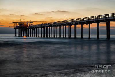 Photograph - Scripps Pier by Bryan Keil