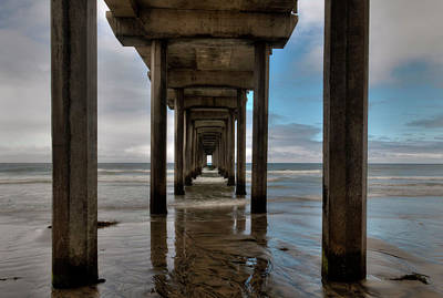 Photograph - Scripps Pier - 1 by Hany J