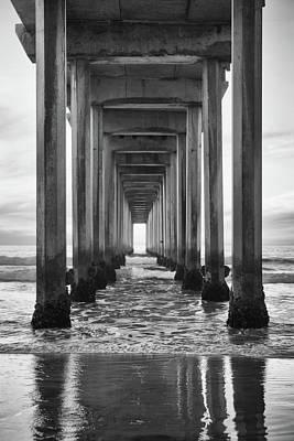 Photograph - Scripps Pier La Jolla by Cliff Wassmann