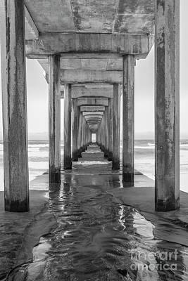 Photograph - Scripps Pier  by Roman Gomez
