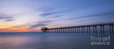 Photograph - Scripps Pier Silhouette  by Michael Ver Sprill