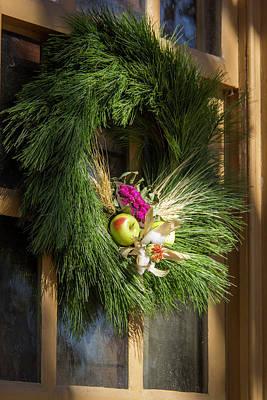 Scrivner Store Wreath Art Print