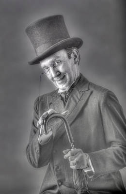 Photograph - Scrooge by Don Wolf