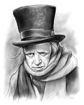 Celebrities Royalty-Free and Rights-Managed Images - Scrooge by Greg Joens