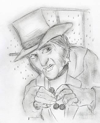 Scrooge Art Print
