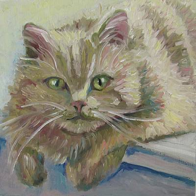 Painting - Scruffy by Susan  Spohn