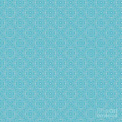 Digital Art - Scuba Blue by Clare Bambers