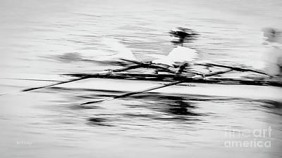 Photograph - Sculling Olympics by Rene Triay Photography