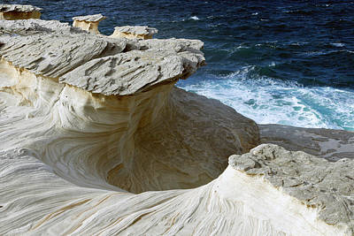 Photograph - Sculpted Clifftops 01 by Nicholas Blackwell