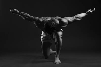 Body Builder Photograph - Sculpted by Naman Imagery