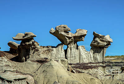 Photograph - Sculpted Formations by Steve Whalen