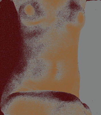 Mixed Media - Sculpted Nude  by Claudia Goodell