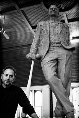 Artist Working Photograph - Sculptor 4 by Nathan Larson