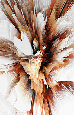 Digital Art - Sculptural Series Digital Painting 23.120210ext5100l by Kris Haas