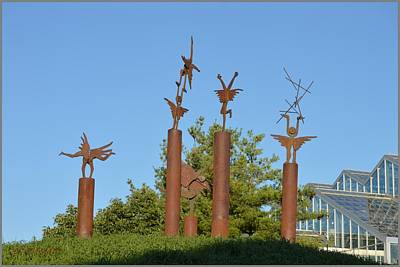 Photograph - Sculpture At Meijer's Garden by Sonali Gangane