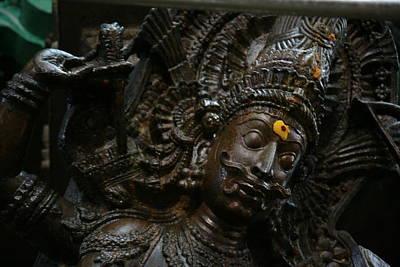 Sculpture Art Print by Deepak Pawar