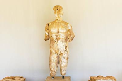 Photograph - Sculpture In Olympia, Greece. by Marek Poplawski