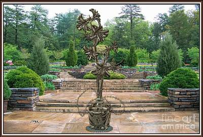 Sculpture Of A Flower 16 Original by Pemaro