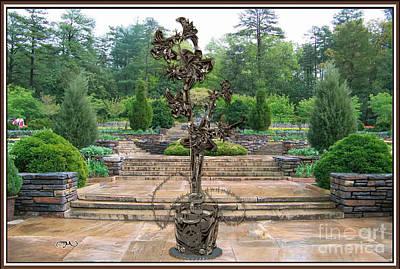 Sculpture Of A Flower 17 Original by Pemaro