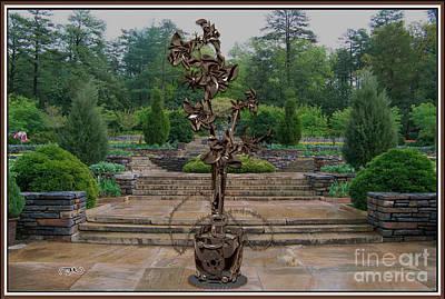 Sculpture Of A Flower 19 Original by Pemaro