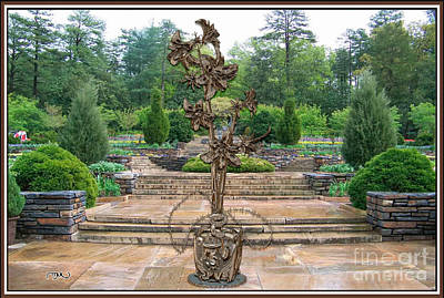 Sculpture Of A Flower 21 Original by Pemaro